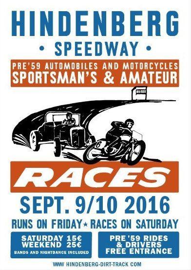 Hindenberg Dirt Track Race 2016